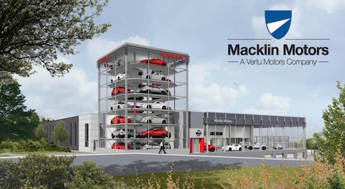 Macklin Motors unveils plans for £6m new dealership