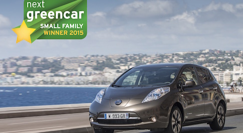 Nissan LEAF 30kWh repeats history in scooping Next Green Car Award also given to its predecessor