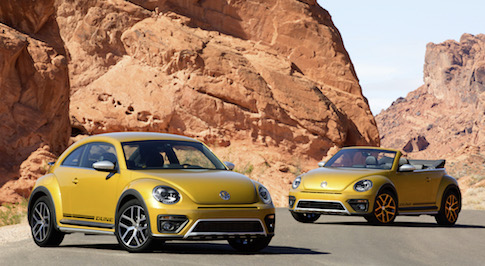 Volkswagen's new Beetle Dune will make its world premiere in LA