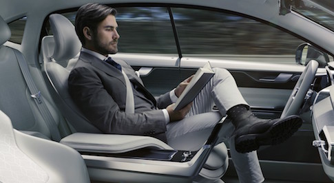 Volvo Cars unveils radical Concept 26, intending to free up commuting time