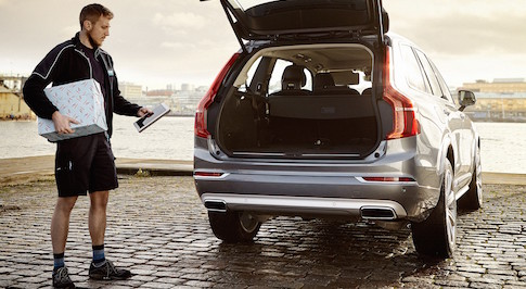 Volvo unveils new shopping delivery system