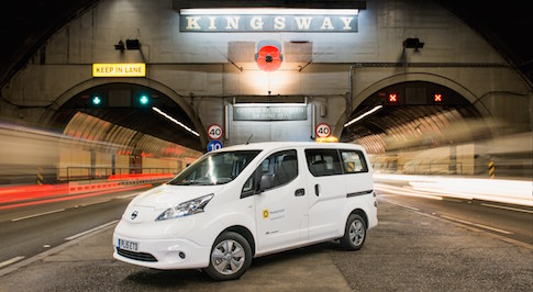 All electric Nissan e-NV200 joins LEAF on Merseytravel fleet