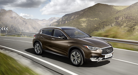 Infiniti to reveal latest in range of premium compact model line-up, the QX30