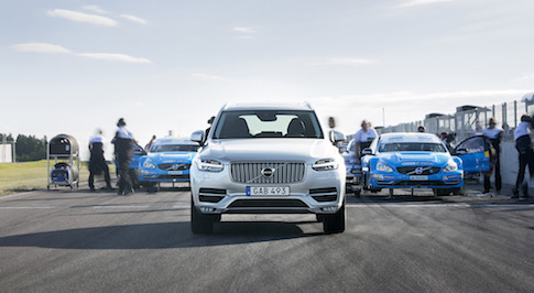 Performance of Volvo's XC90 boosted by range of Polestar upgrades