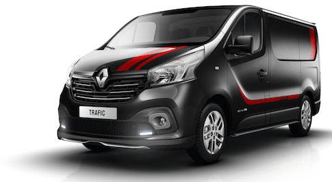 Sporty update for Renault's popular Trafic van