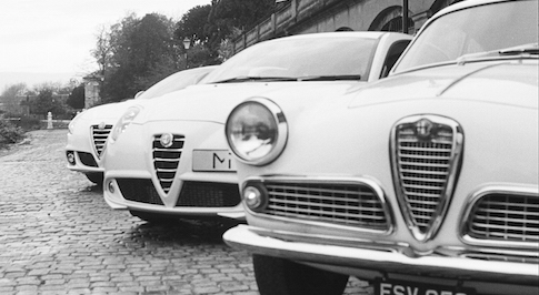Unique photographic collection showcases Alfa Romeo's timeless design