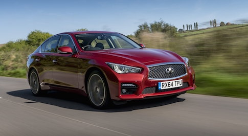 Infiniti announces upgrades to the 2016 Q50 sports saloon