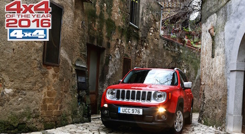 Jeep's Renegade adds to its growing list of accolades