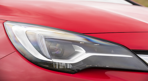 Vauxhall Astra's IntelliLux LED Matrix headlights adapt in accordance with driving environment