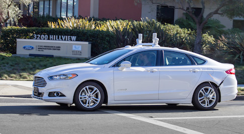 California's roads are to host prototype Ford Autonomous Vehicles from 2016