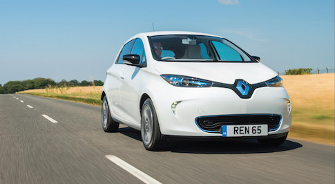 Renault welcomes new Plug-in Electric Car Grant bandings