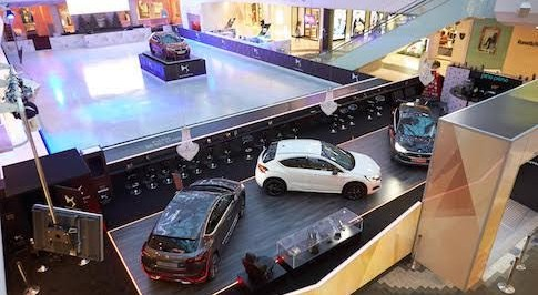 New DS4 and DS4 Crossback will form the centrepiece of Westfield London's winter ice rink