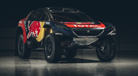Striking new colour scheme unveiled for Peugeot's 2008DKR