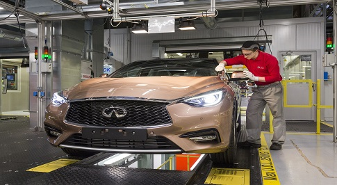 Infiniti Q30 production officially begins in Sunderland