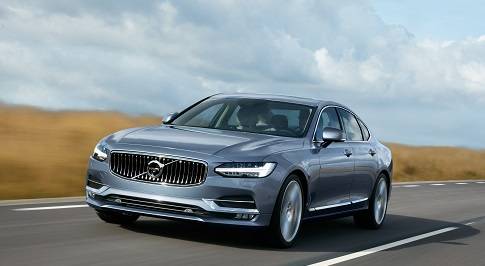 Volvo unveils the highly-anticipated S90 premium saloon