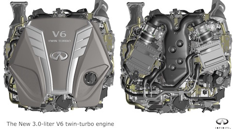 New advanced engine to join the Infiniti line-up from 2016