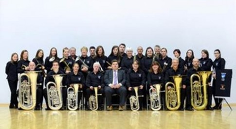 Year of success for silver band helped by local support
